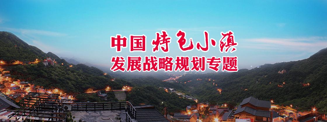 中國特色小鎮發展戰略規劃專題