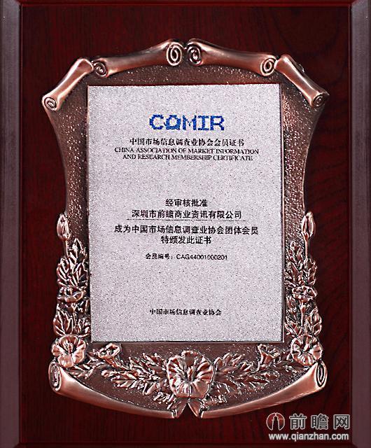 中国市场信息调查业协会团体委员