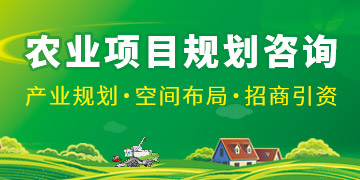 农业项目规划咨询
